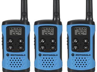 Motorola Talkabout T100TP Radio 3 Pack   Neon Blue  T100TP
