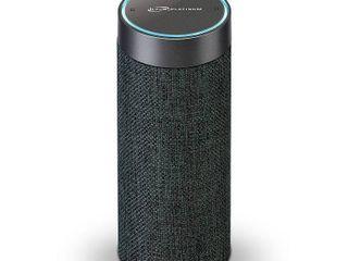 ilive Voice Activated Amazon Alexa Portable Wireless Fabric Smart Speaker   Gray  ISWFV387G