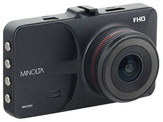 Minolta Mncd53 bk 12 megapixel 1080p Full Hd Mncd53 Car Camcorder  black