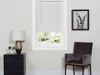 Achim Cordless GII Deluxe Sundown 1  Room Darkening Mini Window Blind  White
