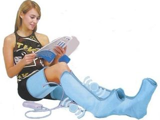 North American Health   Wellness Air Compression leg Wraps With Hand Held Control Unit   Size X large JB6108