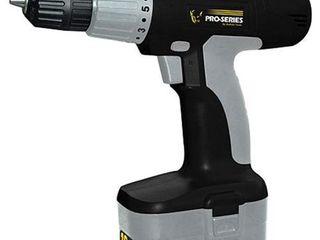 Pro Series 18 Volt Cordless Drill