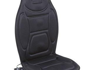 Relaxzen 60 2926XP Massage Seat Cushion  Black
