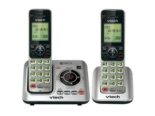 DECT 6 Expandable Speakerphone with Caller ID  2 Handset System
