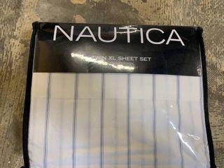 Nautica Cotton Percale Sheet Set  Twin Xl Bedding