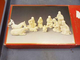 Nativity set 10 piece