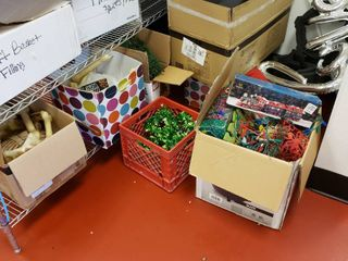 lot of holiday decorations