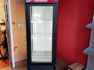 True GEM 23 glass door cooler