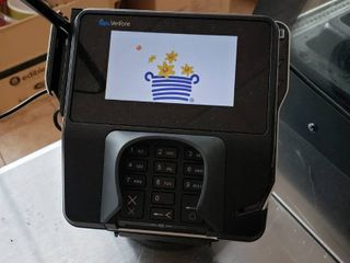 Verizon credit card terminal