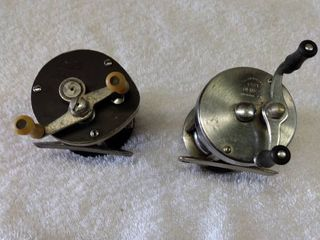 vintage fishing reels