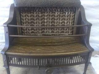 Vintage Gas Heater Fireplace Insert Reznor Orthoray No 605