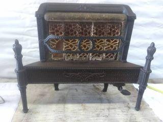 Vintage Gas Heater Fireplace Insert