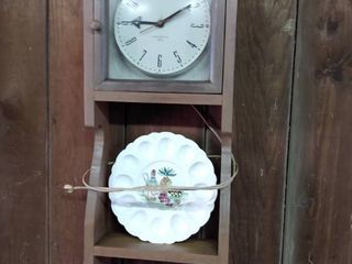 vintage general electric telechron wall clock