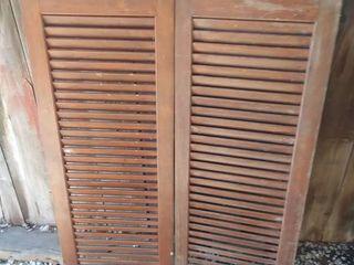 Wooden Swinging Doors