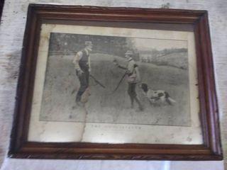 The Conciliator Vintage Framed Art Print