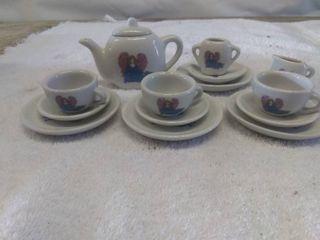 Vintage Kids Tea set