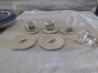 Vintage Miniature Tea Set