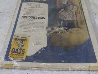Vintage Armor Oats Advertisment