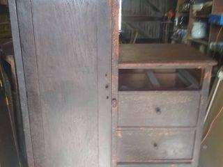 Vintage Wardrobe Dresser