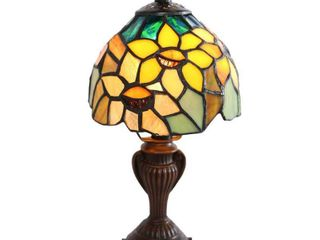 River of Goods 12275 11 5 Inch Sunflower Table Accent lamp