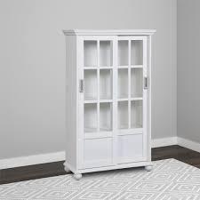 Avenue Greene Abbeywood Bookcase with Sliding Glass Doors  Retail 293 99