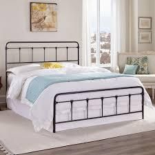 Kotter Home Zinnia Victorian Metal   Iron Bed  Retail 355 99 queen cordova bed specked pewter
