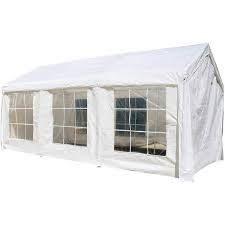 aleko 10x20 feet outdoor white gazebo