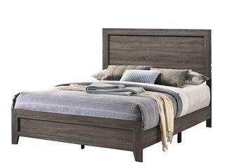 Best Quality Furniture Anastasia Bed Retail 232 49 full grey no matress