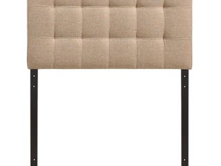 Countess Twin Tufted Fabric Headboard only Retail 82 99 beige