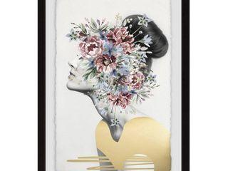 Marmont Hill   Handmade Flower Crown II Framed Print  Retail 119 99