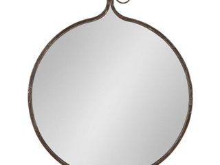 Kate and laurel Yitro Round Wall Mirror  Retail 103 99