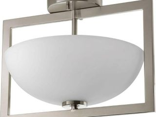 Progress lighting P3557 09 Harmony 2 light Semi flush Convertible small   N A