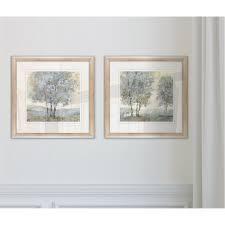 Wexford Home  Soft Sentinel I  Framed 2 piece Art Set  Retail 81 48