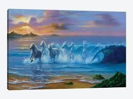 iCanvas  Wild Waves  by Jim Warren  Retail 104 99