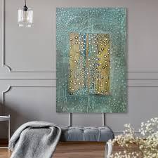 Oliver Gal  Enriqueta Ahrensburg   Skin  Classic and Figurative Wall Art Canvas Print   Green  Yellow  Retail 93 99