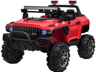 Aosom 12V 2 seat Ride On SUV Truck with Remote Control  Retail 306 49