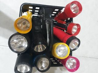 lot of 10 Flashlights Previously Owned  Not Tested