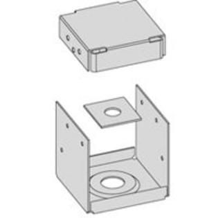 6X6 Triple Zinc Post Anchor By Usp lumber Connectors   Pack Of 5
