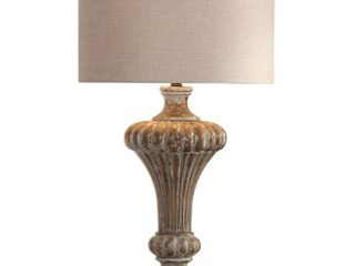 Uttermost Treneece Distressed Antique Grey Table lamp Shade