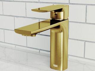 Vigo VG01043 Davidson 1 2 GPM Single Hole Bathroom Faucet