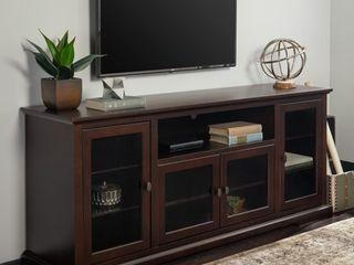 Middlebrook Designs Beaverhead 70 inch Espresso Highboy TV Stand Console  Retail 508 99