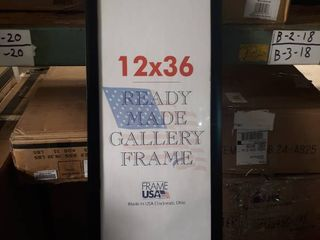 Poster Frame 12 by 36 inch