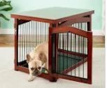 Zoovilla 2 in 1 Configurable Dog Crate and Gate