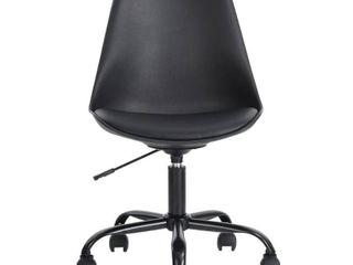 GUANGDONG GUANGXIN FURNI Blokhus Black Pu Cushion Ergonomic Office Desk Chair