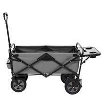 Folding Wagon with Table   Gray