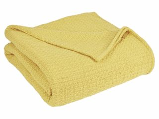 Grand Hotel Woven Cotton Blanket