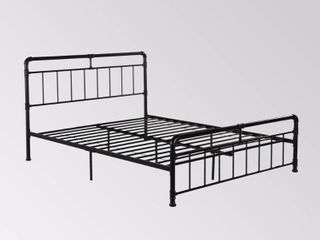 Mowry Industrial Queen Size Bed Frame by Christopher Knight Home  Retail 251 68