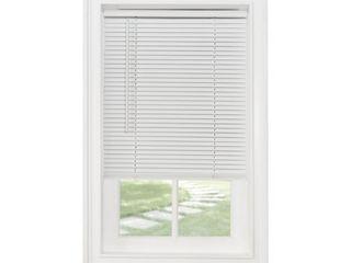 Achim Cordless GII Morningstar 1in light Filtering Mini Window Blind  White