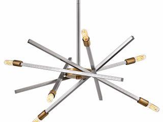 Hinkley lighting 4765 Archer 6 light 26  Wide Sputnik Chandelier