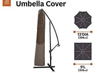 Madrona Offset Umbrella Cover   Dark Cocoa  Brown